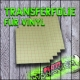 Transferfolie für Vinyl DINA4