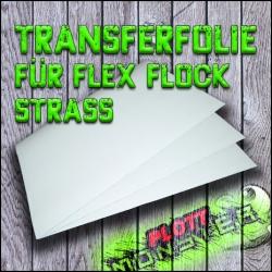 Transferfolie für Flex Flock Strass Bogen(30x50cm)