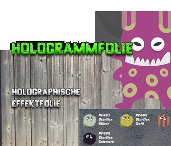 Hologramm-Flex-Folie