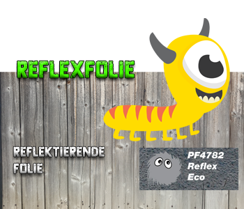 Reflex reflektrende Flex-Folie