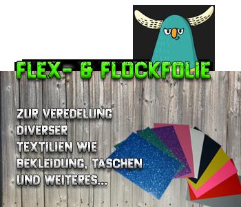 Flex- und Flockfolie