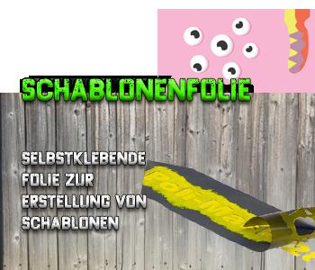 Schablonenfolie