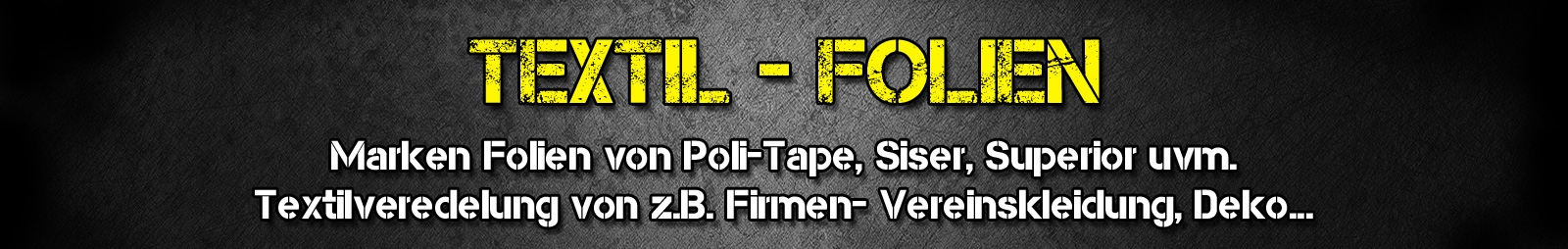 Vinyl - Folien