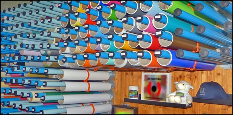Meterware Flexfolie Flockfolie Vinylfolie Plotterfolie